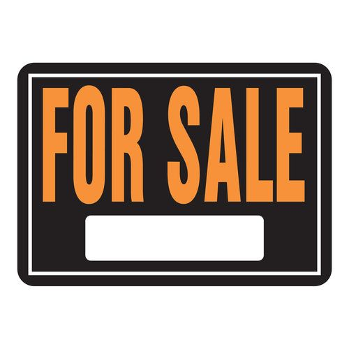 10X14 For Sale Sign, Multicolor