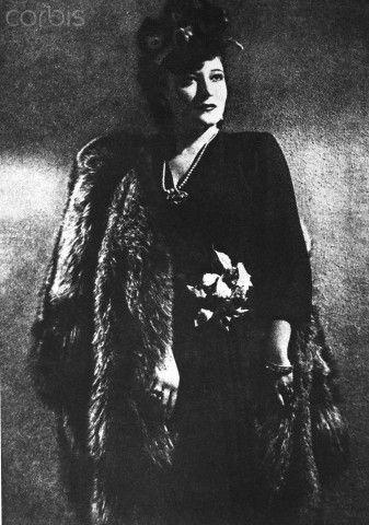 Portrait of Claretta Petacci - 1940   #TuscanyAgriturismoGiratola