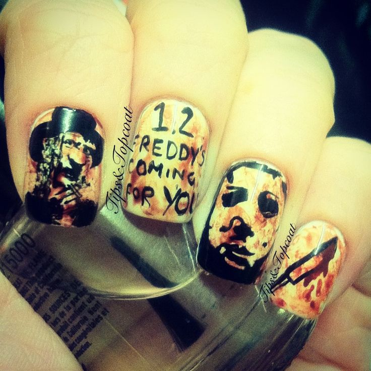 17 Best images about Horror nail designs on Pinterest ...