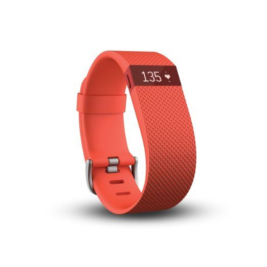 Amazon.com: Fitbit Charge HR Wireless Activity Wristband (Black, Large (6.2 - 7.6 in)): Health & Personal Care