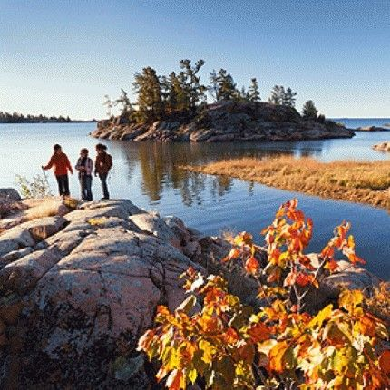 Killarney Provincial Park, Ontario - touted as a 'crown jewel' of Ontario's park system