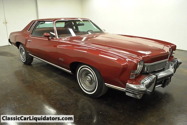 1973 Chevrolet Monte Carlo For Sale at Classic Car Liquidators is listed at $5,999.00. Check out our classic car inventory.