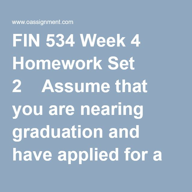 FIN 534 Week 4 Homework Set 2  Assume that you are nearing graduation and have applied for a job with a local bank. The bank's evaluation process requires you to take an examination that covers several financial analysis techniques.  Use the following information for Questions 1 through 2  1. What is the present value of the following uneven cash flow stream −$50, $100, $75, and $50 at the end of Years 0 through 3? The appropriate interest rate is 10%, compounded annually.  2. Suppos...