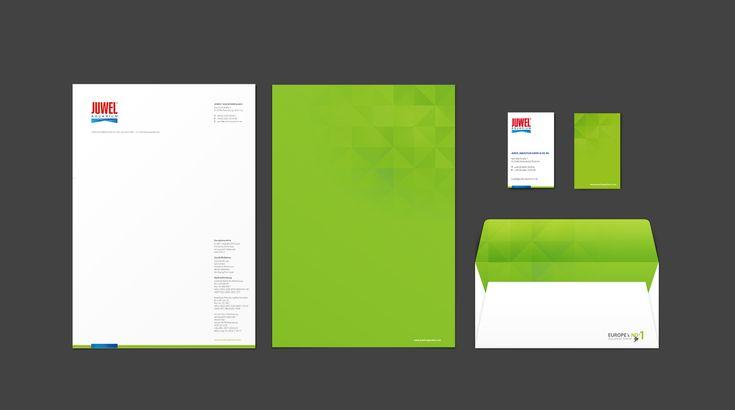 Für Juwel Aquarium haben wir das Corporate Design Juwel Aquarium - Design & Concept by Redeleit und Junker Fonts: Myriad Pro, PF Square Sans Pro