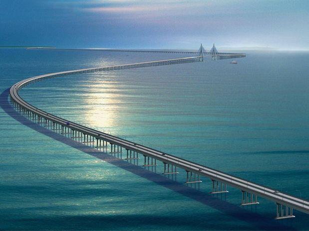 Ponte da Baía de Hangzhou, China