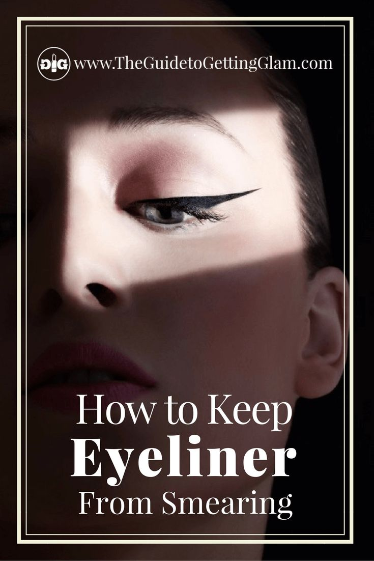 Makeup tip: Want to keep your eyeliner in place all day? Click to read three makeup artist tips to keep your eyeliner from smearing.