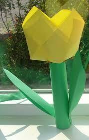 tulp met 16 vierkantjes