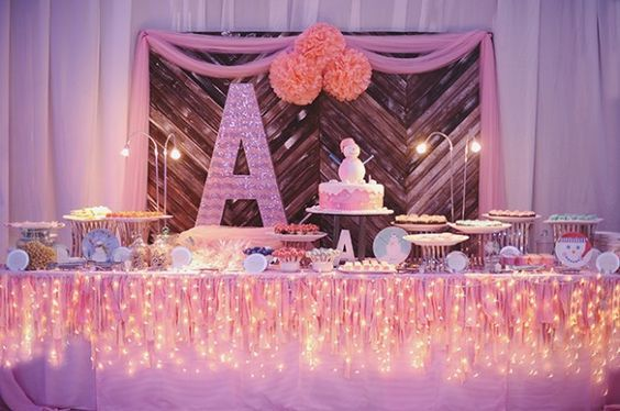 winter birthday party ideas for girls | Pink-Winter-Wonderland-Party-12-620x412.jpg