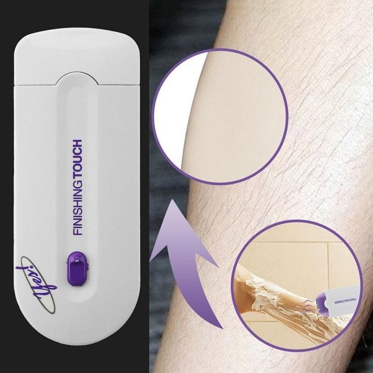 Electric Epilator Women Hair Removal Painless Shaver