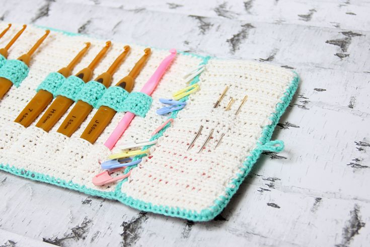 Crochet Pattern: Crochet hook case