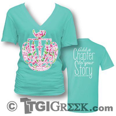 TGI Greek - Sorority Recruitment - Greek T-Shirt Designs #sororityrecruitment #greeklife #tgigreek