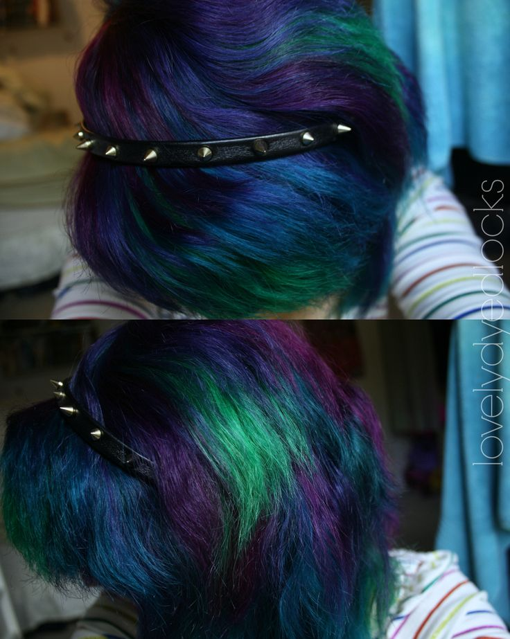 Peacock Hair Dyes Used Are Directions Apple Green Adore Aquamarine Adore