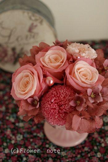 『【開店祝い】チェリーのイメージ』 http://ameblo.jp/flower-note/entry-11154757012.html