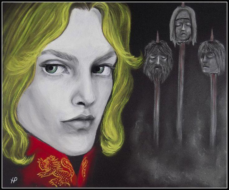 Joffrey Baratheon (art by Anastasia Robozeeva)