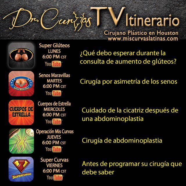 Hourglass Tv Guía para esta semana. No olvide estos horarios.