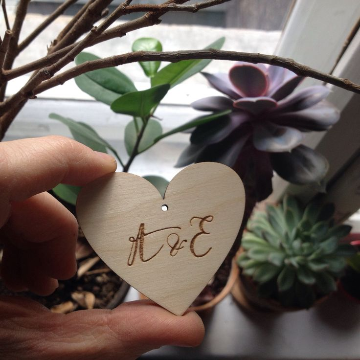 You can order personalized heart with initaials or name. Please contact me before purchase to set the details and price for your custom order.