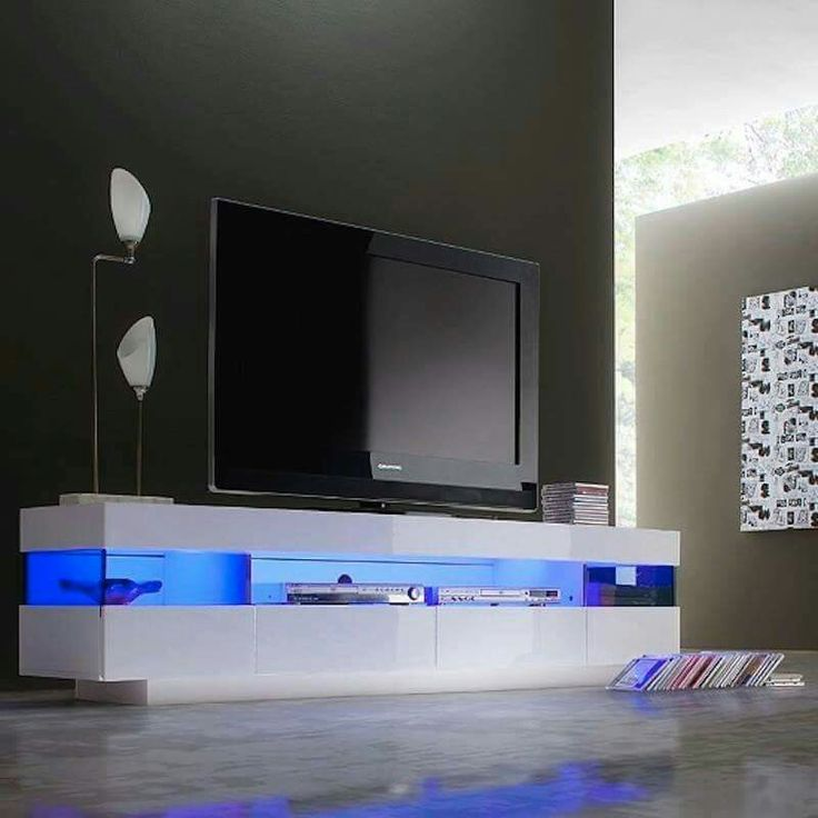 Pin By Imran Malik On Tv Unit Luxury Modern Homes Tv Stand With Led Lights Tv Stand