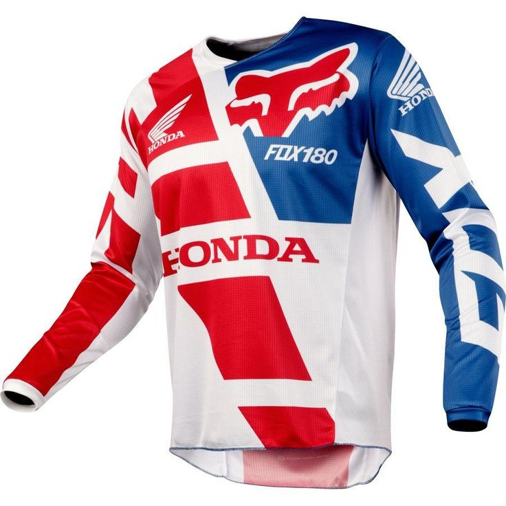 Fox Racing 180 Honda Race Jersey MX Off-road Logo Jersey All Sizes