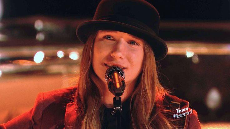 "The Voice 2015 Sawyer Fredericks - Top 12: ""Imagine"""