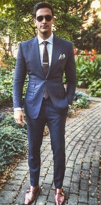 Nice suit and style