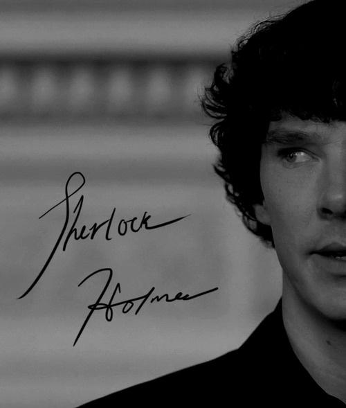 Sherlock Holmes ~ Sherlock BBC TV BenedictCumberbatch