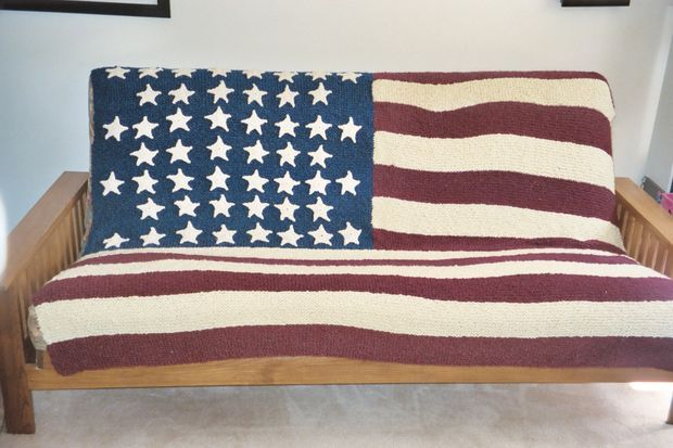 Picture of American Flag Blanket