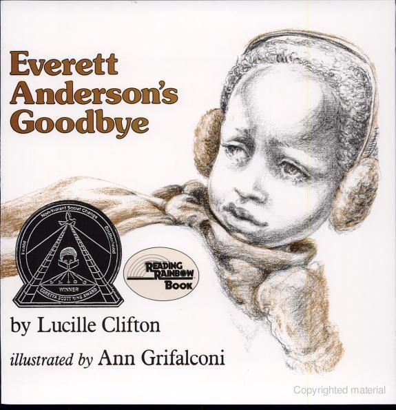"""The 1984 Coretta Scott King Author Award winner was """"Everett Anderson's Goodbye"""" by Lucille Clifton."""