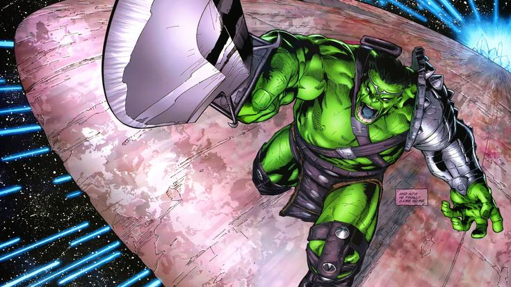 Planet Hulk, Sakaar and Why Hulk Appears In Armor in Thor Ragnarok