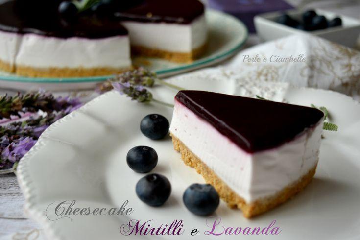 Cheesecake mirtilli e lavanda di Tamara