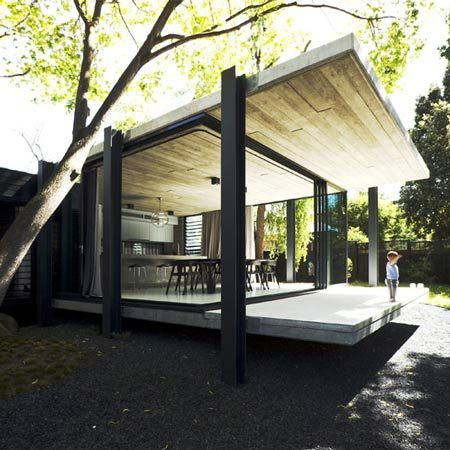 Elm  Willow House by Architects. Open to the elements#Repin By:Pinterest++ for iPad#: Melbourne Australia, Exterior, Home Decor, Architects Eating, Modern Houses, Architecture, Willow Houses, Houses Design, Modern Design