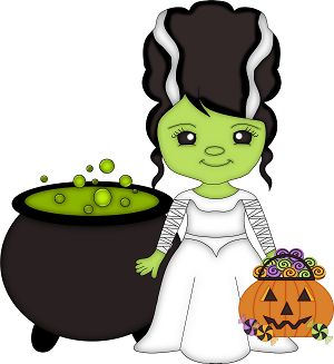 1121 best images about halloween clipart & backgrounds on ...