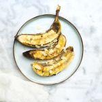 Banaan+op+de+BBQ+met+honing+&+kokos