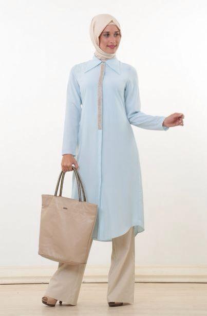 Puanenin birbirinden güzel her tarza uygun tunik modelleri Zerafet Tesettürde.. [ Puane Sivri Yakalı Tunik-Buz Mavisi 8314-036-14 ]  Fiyat : 129,90 TL Sipariş Link : http://bit.ly/1vW27n7 Diğer Modeller için : http://bit.ly/WewrgQ #InstaSize #moda #tasarım #tesettür #giyim #fashion #ınstagram #etek #tunik #kap #kampanya #woman #alışveriş #özel #zerafet #indirim #hijab