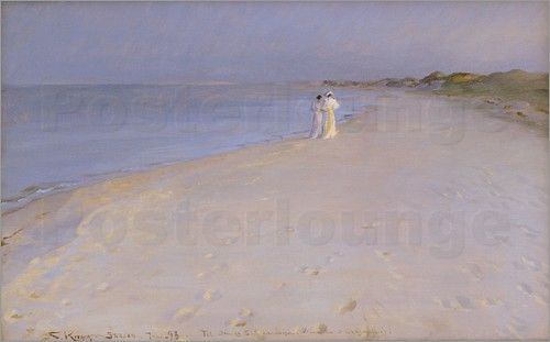 Peder Severin Kroyer - Sommerabend am Südstrand