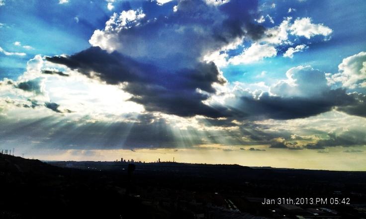 Jozi Sunset ....