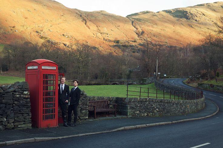 Coach Creative Director Stuart Vevers and Designer Benjamin Seidler's Winter Wedding in Cumbria, U.K. – Vogue