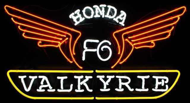 Honda Valkyrie Neon Sign Real Neon Light
