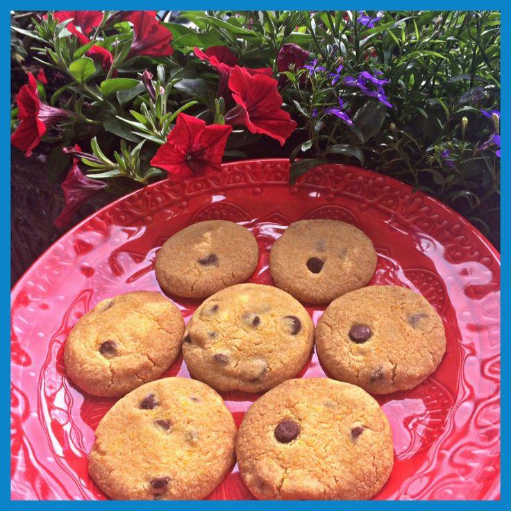 Chocolate Chip & Orange Biscuits