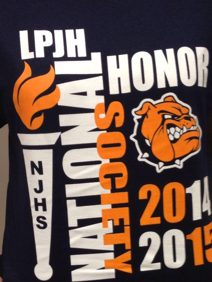 Shirt ideas for National Honor Society