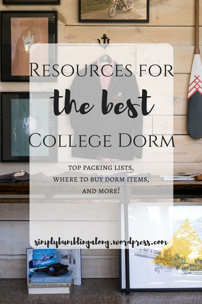 Top packing lists, where to buy dorm items, and more! dorm items, dorm packing list, college packing list