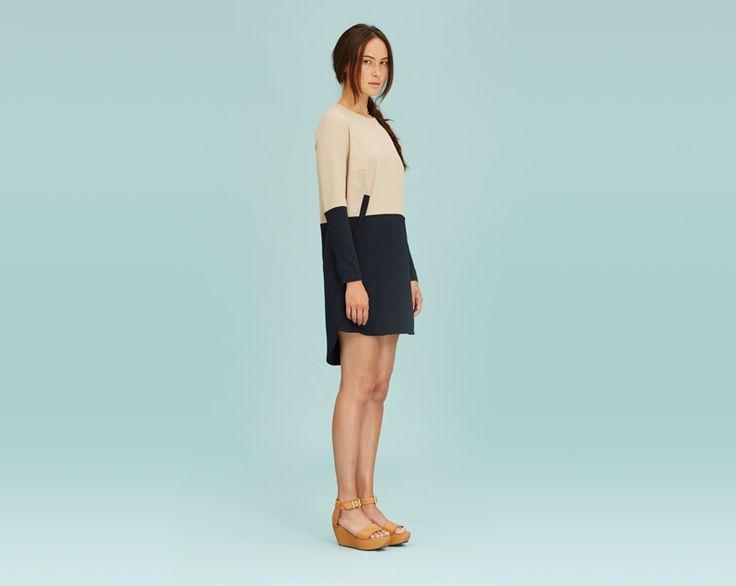 #libertinelibertine #dresses #minimalist #womenswear #fashion  http://www.urbag.cz/damske-obleceni-libertine-libertine-jaro-leto-2014/