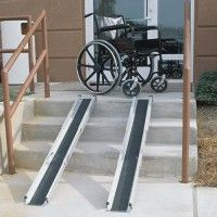 When there is someone in the house with mobility issues you will want to install mobility aid ramp supplies to help them get around easily.