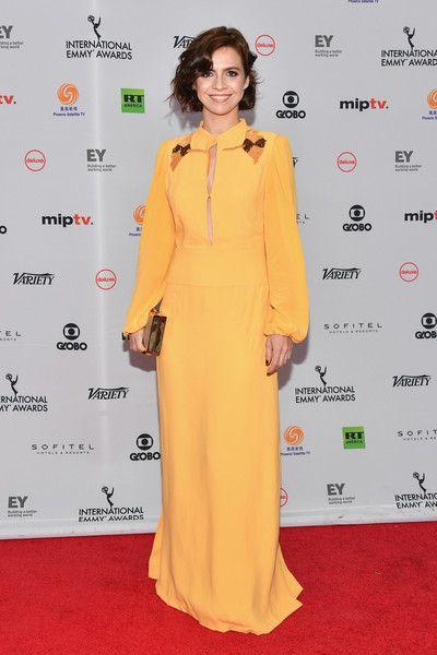 Renata Gaspar attends the 45th International Emmy Awards at New York Hilton on November 20, 2017 in New York City.