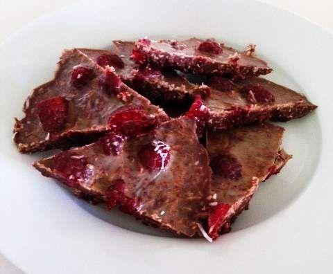 Raspberry Chocolate Ripple (sugar, nut, wheat, gluten & egg free)
