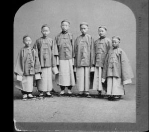 Qing Dynasty Children - The Qing people mostly believed in the birth of boys and most of the newborn girls that were bone were killed due to family preferences.