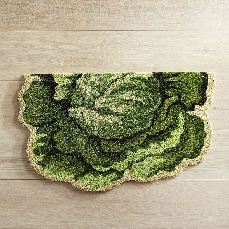 Easter Cabbage Shaped Doormat