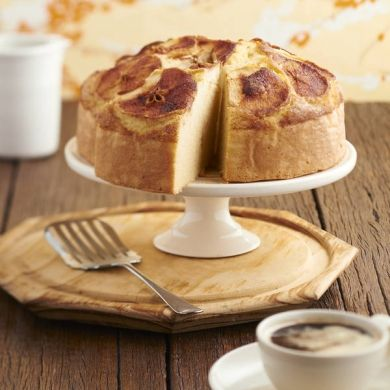 Apple Tea Cake  #Recipe  #Vitasoy  #myfoodbook