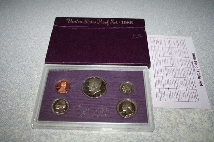 #coins 1986,US Mint Proof Set,Kennedy Half Dollar,Proof Set,Birth Year,Free Shipping,71 please retweet