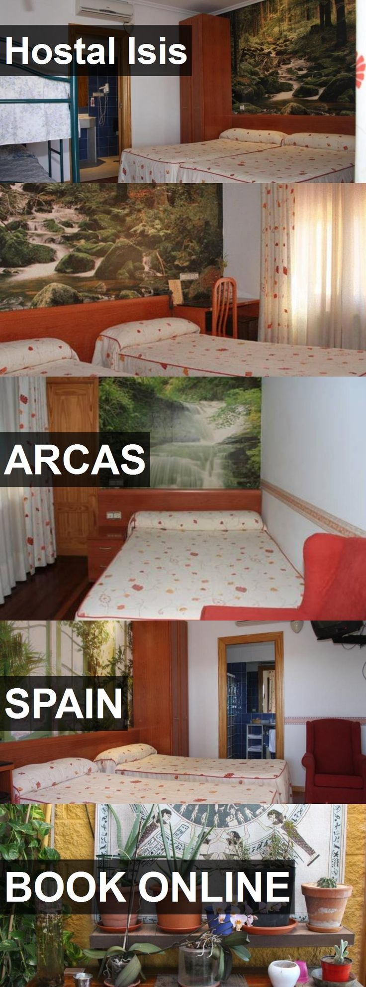 Hotel Hostal Isis in Arcas, Spain. For more information, photos, reviews and best prices please follow the link. #Spain #Arcas #HostalIsis #hotel #travel #vacation