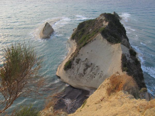 VIEW FROM THE CLIFFTOP AT CAPE DRASTIS-THEMATIC PARK
